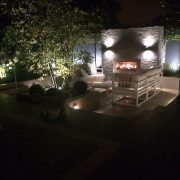 night time chill out area