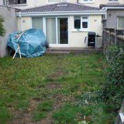 Modern Garden Before