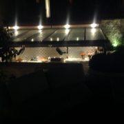 Bespoke Outdoor Kitchen Night Structure