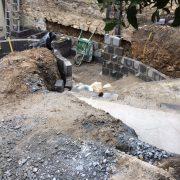 Excavating Down Steps
