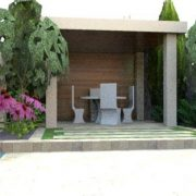 Clonskeagh Garden photo realistic design