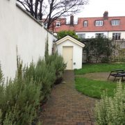 ranelagh garden shed before planting