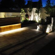 ranelagh garden lighting night