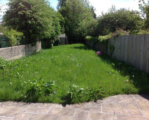 Before Long Angled Rathgar Garden