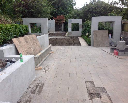 Rathgar Garden Tiling