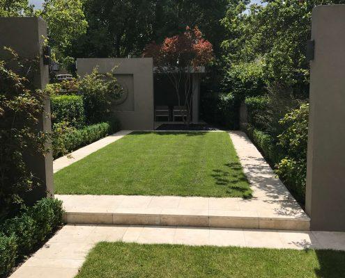 Paneled Lawns Rathgar Garden Greenstone Landscapes