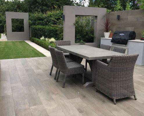 Outdoor Seating Area Rathgar Garden